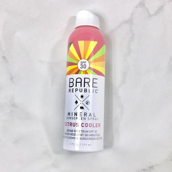 Accessories | New Bare Republic Mineral Sunscreen Spray Citrus ...